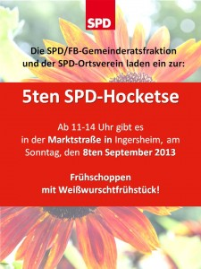 Plakat Hocketse